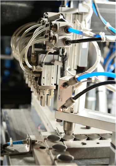 INVITECH's automated production