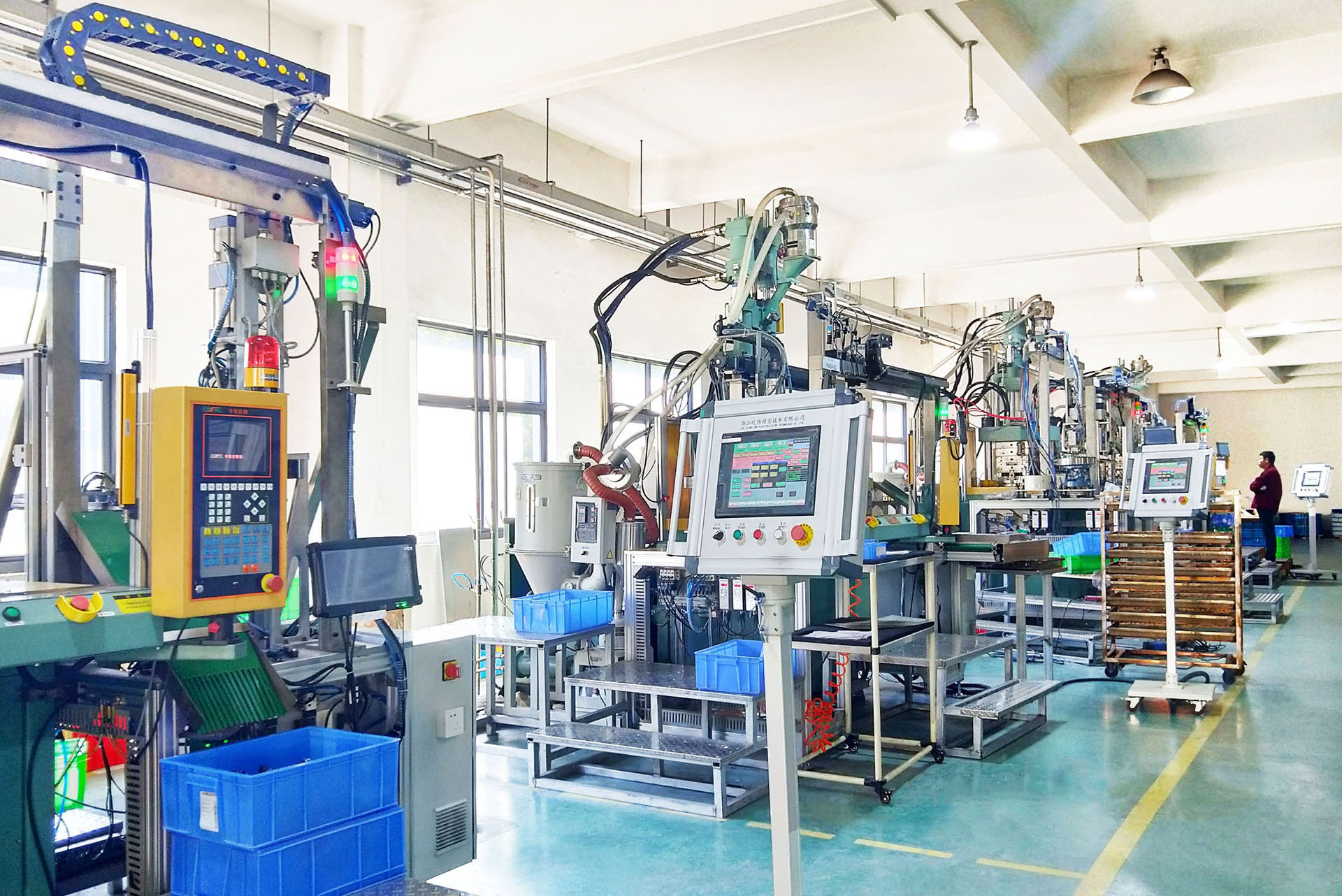 The heat dissipation problem in plastic injection molding